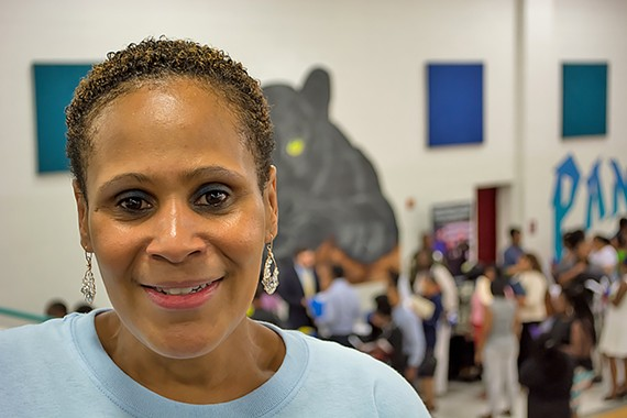 Myra Griffin is working to help decrease unemployment and crime in the city's 9th District.