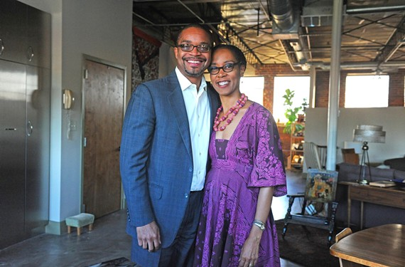 Virginia Commonwealth University's music department chairman, Darryl Harper, and acclaimed artist Sonya Clark, chairwoman of craft and material studies, met in college and formed a unique partnership.