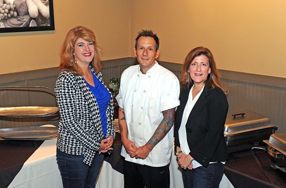 Kelli Smith, David Magner and Laura Wooton are the team behind subscription-meal service, Dine In 2Nite.
