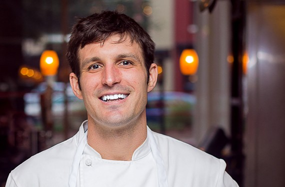 Danial Oakes is now behind the stove at the West Broad Street restaurant.