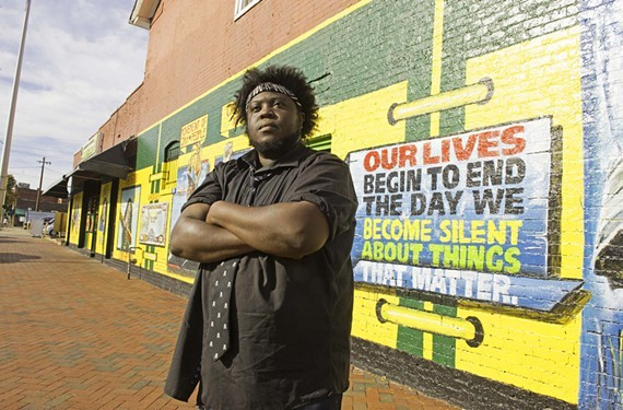 Local trombonist Reggie Pace is a well-known national musician who often promotes the RVA brand.