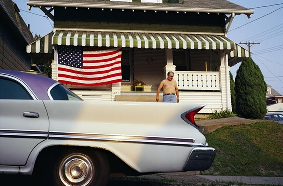 "Nathan Benn's ""Fourth of July, Pittsburgh, 1990"" captures a slice of America that whispers, not shouts."