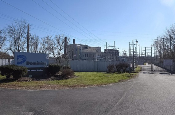 Dominion's Bremo Power Station sits 60 miles upstream of Richmond on the James River.