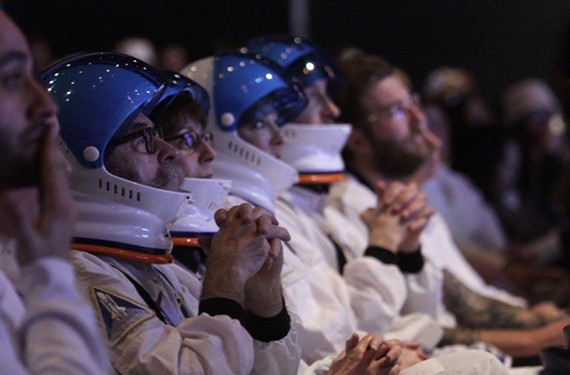 Astronauts and others sat on the edge of their seats at the Elbys, held Sunday, Feb. 21 at the VMFA.