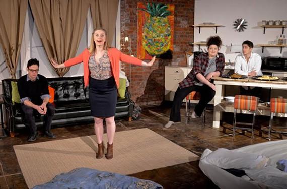 "TheatreLab's ""Bad Jews"" plays through March 5."