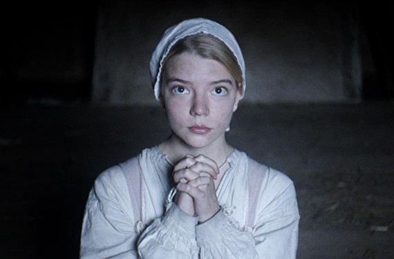 "Anya Taylor-Joy stars as Thomasin in the polarizing dark fairy tale, ""The Witch."""
