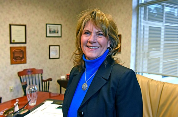 Ginger Stanley has led the Virginia Press Association for nearly 30 years.