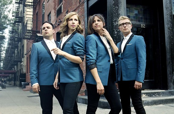 "Drummer Mike Calabrese, singer Rachael Price, stand-up bassist Bridget Kearney, and multi-instrumentalist Mike ""McDuck"" Olson make up the talented Lake Street Dive. The group's name comes from a street of bars in Olson's hometown of Minneapolis."