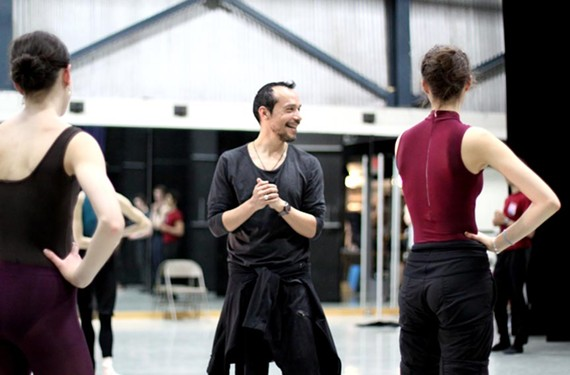 Returning choreographer Edgar Zendejas wowed local audiences during the ballet's New Works Festival in 2014.