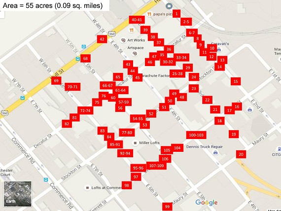 The city is starting to address the plethora of potholes in Manchester as mapped out by developer John Gregory.
