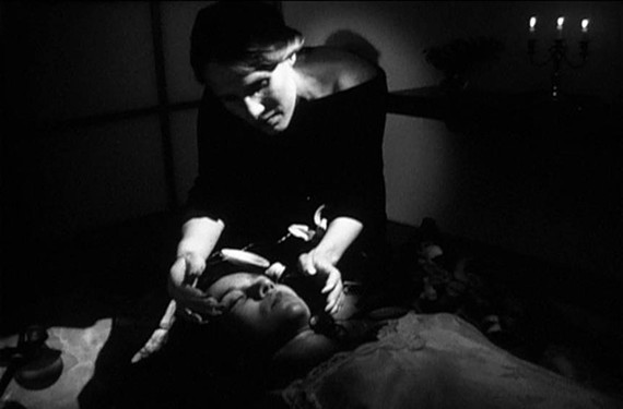 """This still is from experimental filmmaker Jennifer Reeves' """"Shadows Choose Their Horrors."""""""