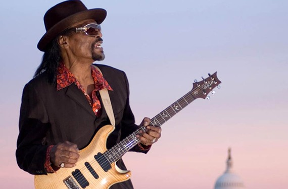 The late Chuck Brown