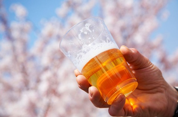 It's spring and the beer is flowing -- to a big brewing company.