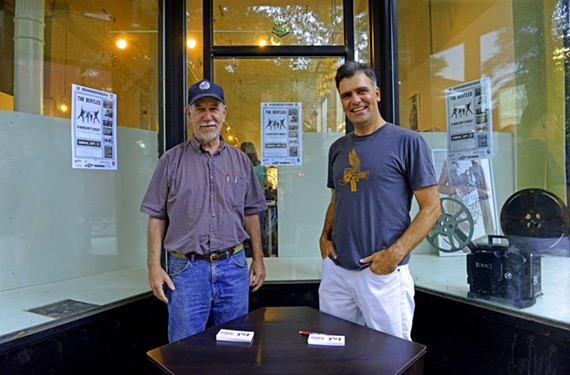 Terry Rea and James Parrish say there's room for an independent, art house theater. They're working on plans for the Bijou Film Center, a 100-seat theater downtown. The conclusion of an initial fundraising campaign will be celebrated this weekend.