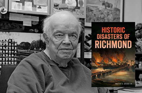 Author Walter S. Griggs Jr., a professor at VCU, writes history books about Richmond to preserve knowledge for future generations.