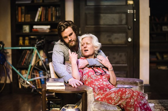 Leo (Johnny Day) and his grandmother Vera (Irene Ziegler) prove that old liberals and new liberals can get along after all in a dramatic comedy that was a finalist for the 2013 Pulitzer Prize for drama.