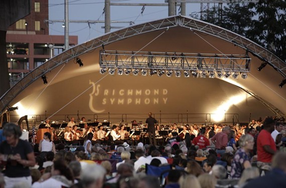 The Richmond Symphony has been using its big mobile tent to take its sounds to new audiences and unusual locations — like the upcoming concert at Abner Clay Park.