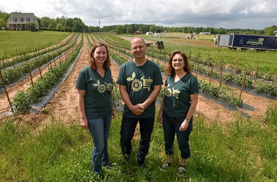 Seasonal Roots' Kat Costello, Duane Slyder and Patty Loyde want their online service to help farmers do what they do best — farm.