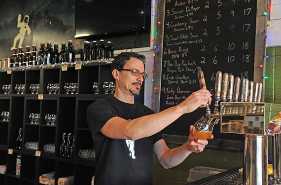 Tony Ammendolia, who started home brewing in 1993, grew his passion into a business. His home-brew supply store, Original Gravity, now offers beer on tap as well as support and supplies for people who want to try making beer at home.