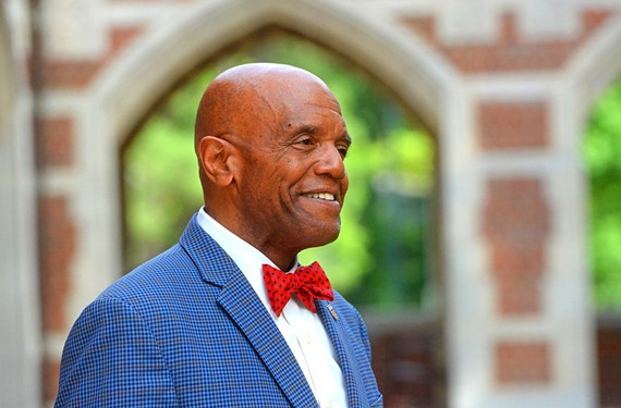 Since taking over as president of the University of Richmond last year, Ronald A. Crutcher has been finding a variety of ways to get involved in the community.
