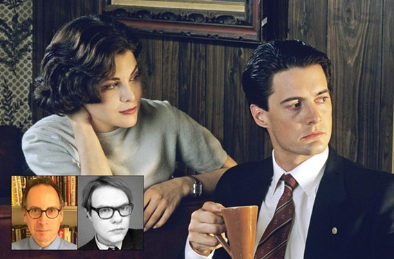 "Sherilyn Fenn as Audrey Horne and Kyle MacLachlan as agent Dale Cooper in ""Twin Peaks,"" a serial drama by David Lynch that changed the landscape of television in the early '90s.  The show is returning on Showtime next year."