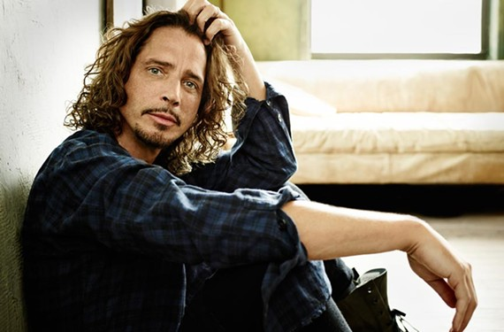 Chris Cornell of Soundgarden fame has mellowed some now that he's in his 50s and living in Florida. He'll be performing solo acoustic music here as part of his Higher Truth tour.