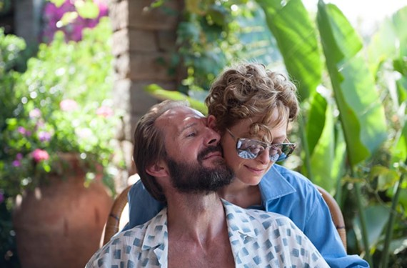 "Two of Hollywood's best actors, Ralph Fiennes and Tilda Swinton, star in the sleeper summer hit, ""A Bigger Splash"" directed by Luca Guadagnino (""I Am Love"")."