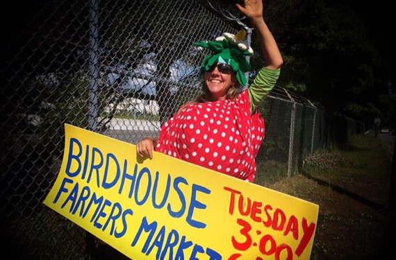 The Birdhouse Farmers Market and Sub Rosa Bakery are planning a benefit for the market to be held on July 10.