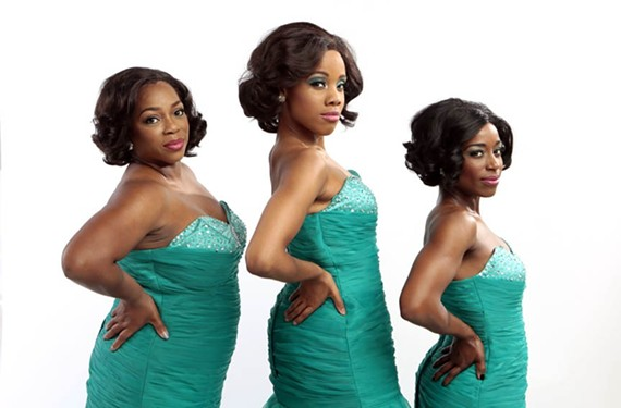 "Disirée Roots, Zuri Washington and Felicia Curry lead the cast of ""Dreamgirls"" at Virginia Rep."