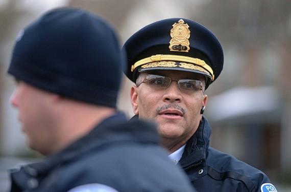 Richmond Police Chief Alfred Durham.