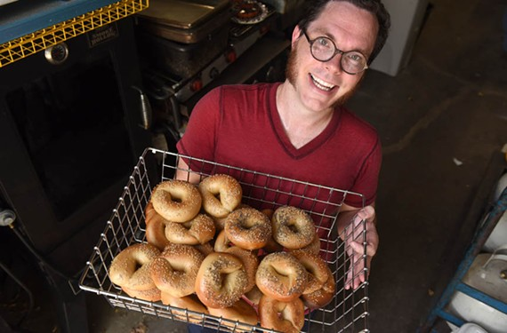 Nate Matthews talked to bagel-making pros in New York before starting his subscription bagel business in Richmond.