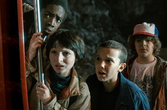 "After collecting loads of data on its users' preferences, the brass at Netflix created the wildly popular series, ""Stranger Things,"" whose child protagonists recall such '80s classics as ""The Goonies"" and ""Stand By Me."""