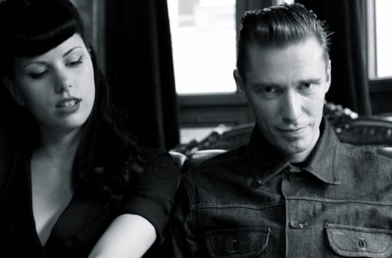 "Svetlana ""Zombierella"" Nagaeva and Oleg Gitarkin of the Russian group Messer Chups."