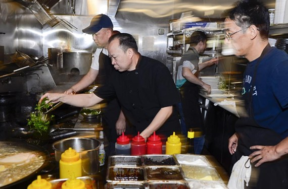 The James Beard Foundation recognized two Richmond chefs this year, and Peter Chang, a finalist for the Best Chef Mid-Atlantic award, has taken advantage of the momentum.