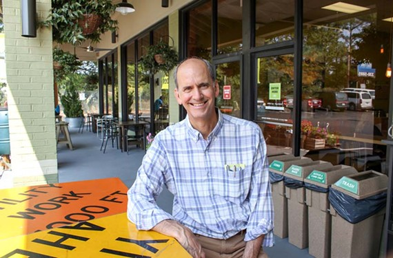 Ellwood Thompson's Local Market owner Rick Hood has served as a mentor and his store as a kind of incubator for companies that make local products.