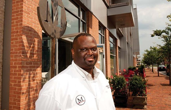 Former M Bistro chef Michael Hall will open his new restaurant, Spoonbread Bistro, on Sept. 20.