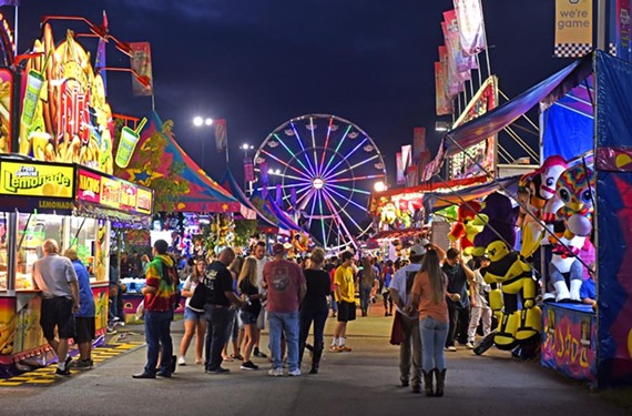 The State Fair of Virginia runs through Sunday, Oct. 2, at the Meadow Event Park in Doswell.