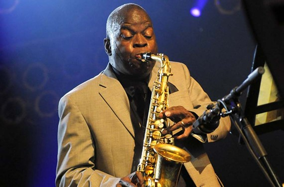 Maceo Parker performs on Saturday, Oct. 8, at the Altria Stage from 6-6:45 p.m. and at the Dominion Dance Pavilion from 9-10 p.m.