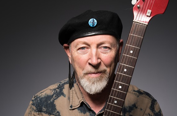 British guitarist Richard Thompson performs solo at the University of Richmond on Oct. 13.