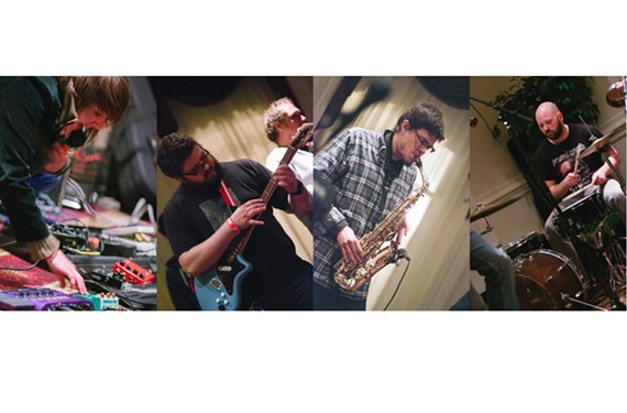 Local musicians Nelly Kate, Dave Watkins, Tristan Brennis and Nathaniel Roseberry have all participated in the Colloquial Orchestra, whose music can be found at the Cherub Records Bandcamp site.