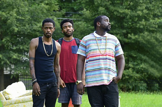 """Actors Keith Stanfield, Donald Glover and Brian Tyree Henry star in FX's """"Atlanta."""""""