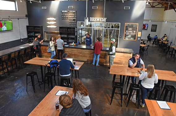Charlottesville's Three Notch'd Brewing Co. recently opened its third location, RVA Collab House, in Scott's Addition.