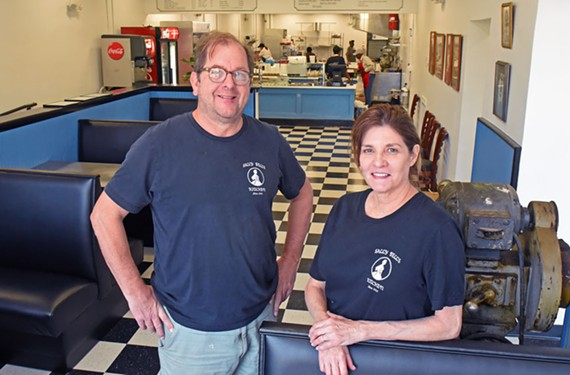 Scott and Martha Jones have moved the beloved box lunches of Sally Bell's Kitchen to West Broad Street and all of their customers have come with them.