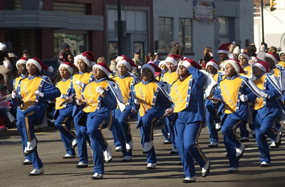 The 33rd annual Dominion Christmas Parade, Dec. 3.