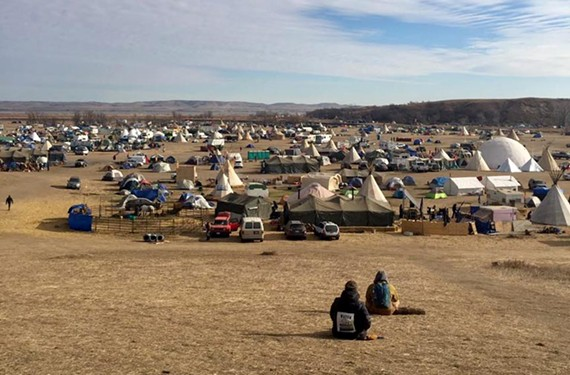Protests against the Dakota Access Pipeline have continued at Standing Rock since April.
