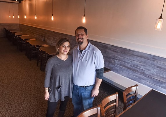 Daniella and Jimmy Tsamouras are opening a Mediterranean spot in the old Omega Grecian Restaurant space on MacArthur Avene.