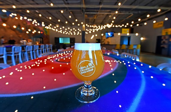 Triple Crossing Brewing, now in its expanded digs in Fulton, is part of the new Richmond Beer Trail.