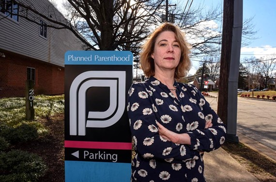 The president of the Virginia League for Planned Parenthood, Paulette McElwain, says the nonprofit has provided four times the typical number of intrauterine devices since the election.