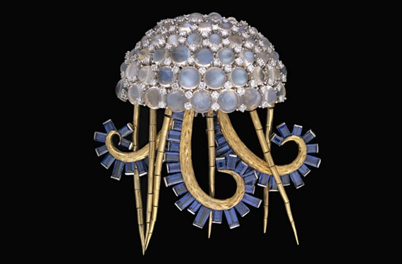 Jellyfish (La Méduse) Brooch, 1967, Jean Schlumberger