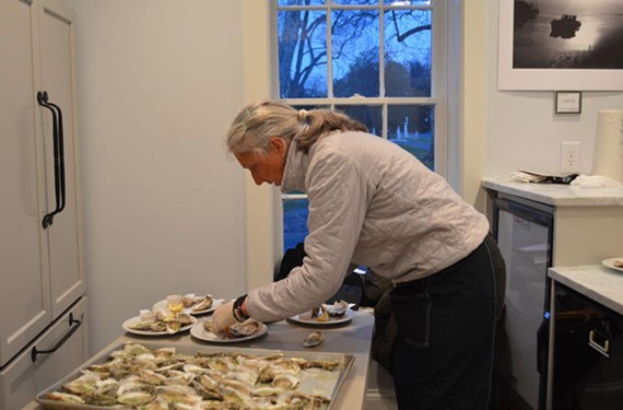 "Chef Amy Brandt at the 2016 ""The South You Never Ate"" event."